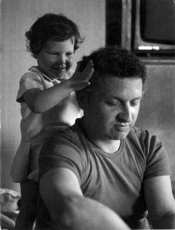 Lányával, Eszterrel