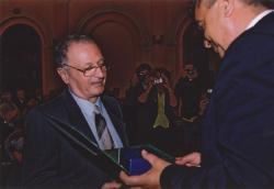 A Quasimodo-díj átvétele (2001)