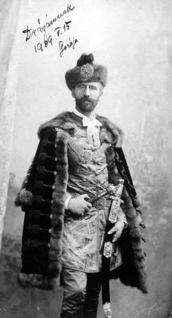 Édesapja, Ottlik Géza, Budapest, 1896