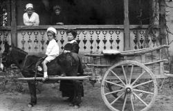 Ottlik Géza csacsifogaton, Balatonföldvár, 1916 szeptember