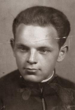 Sándor Károly Dániel Ottliknak dedikált fotója