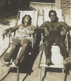 Debreczeni Gyöngyi és Ottlik Géza, 1939 körül