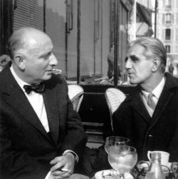 Vas István és Ottlik Géza, Párizs, 1963 október