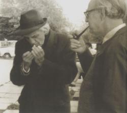 Ottlik és angol barátja, Dick Jugoszláviában, 1979