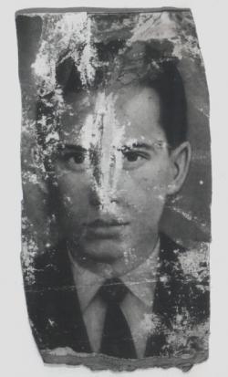 Páskándi Géza érettségi fotója (átment rajta a '70-es árvíz)
