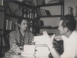 Páskándi Géza és Für Lajos Kolozsvárott (1973)