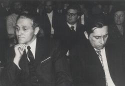 Újvidéki felolvasáson Kányádi Sándorral (1973)