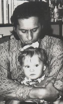 Lányával, Ágnessel (1973)