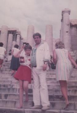 Ágnes és papája az Akropoliszon (1984)