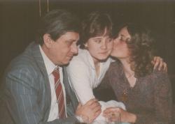 Családi ebéd a Kárpátia étteremben (1985. ápr.)