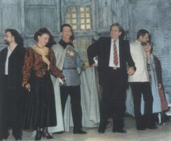 A Lélekharang bemutatója a nyíregyházi színházban (1987)