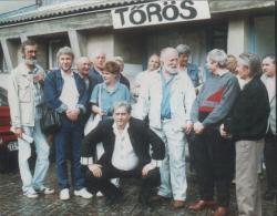 Erdélyi képzőművészek társaságában, Szentendre (1991)