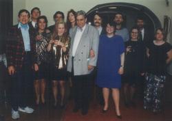 A New York-i Küszöb Színház színtársulata (Páskándi darabjainak rendezője: Pamela Billig, fordítója: Brogyáni Jenő), 1993 telén