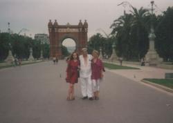 Páskándi Ágnes, Géza és Anikó (Barcelona, 1993 nyara)