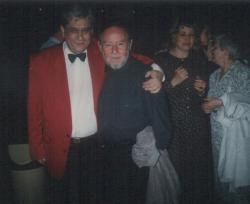 Páskándi Géza, Taub János és feleségeik: Páskándi Anikó, Taub Éva (1993)