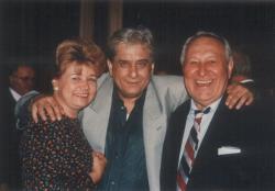 Páskándi Anikó, Páskándi Géza és Bessenyei Ferenc színművész (1993. május)