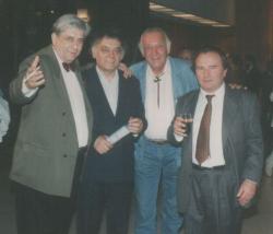 Páskándi Géza, Csoóri Sándor, Sinkovits Imre és Kocsis István (1993)