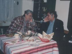 Páskándi Géza és Csoóri Sándor (1995 január)
