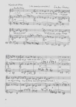 Farkas Ferenc zeneműve, 2.