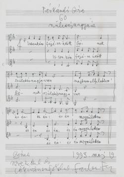 Farkas Ferenc zeneműve, 4.