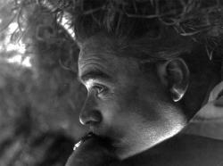Ismeretlen fotográfus művészfotója a költőről