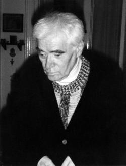 Az utolsó képek egyike a nagybeteg, 1998 óta Kossuth-díjas költőről