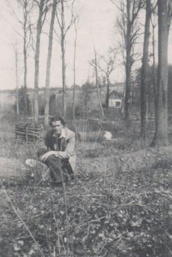 1947 húsvétján, Franciaországban