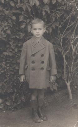 Öt évesen, Balatonbogláron