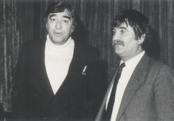 Somlyó György és Juhász Ferenc (1970 körül)