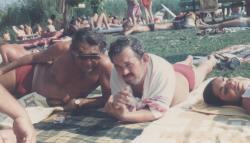 Somlyó György és Bella István (Szigliget, 1986)