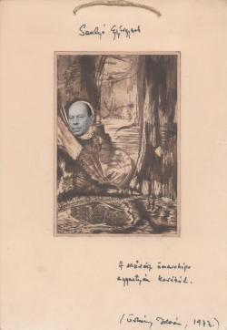 Örkény István Somlyónak dedikált ajándéka (1973)