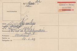 Turistakártya (1948)