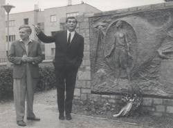 Weöres Sándor és Somlyó György a 60-as évek elején