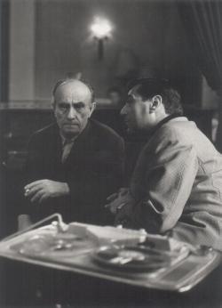 Kassák Lajos és Somlyó György a hatvanas évek elején