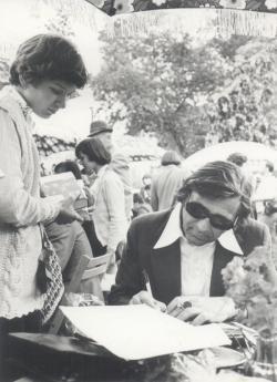 Dedikálás (1977 május)