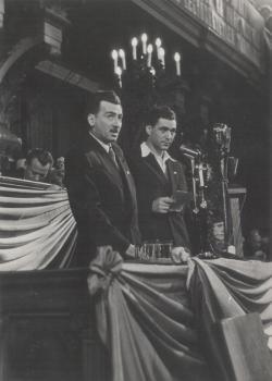 Állami ünnepség az 50-es évek elején