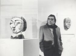 A párizsi Picasso-múzeumban, 1986