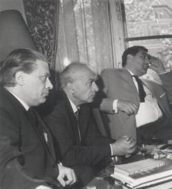 Tolnai Gábor, Somlyó György és Illyés Gyula