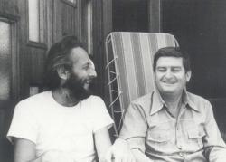 Szakonyi Károly és Bertha Bulcsu Szentendrén