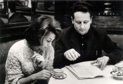 Domján Edittel az Életem, Zsóka premierje előtt, a Hungária Kávéházban, 1963 decemberében