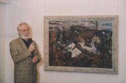 Eigel István kiállításának megnyitója