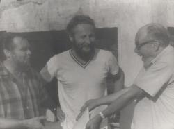 Gyurkovics Tibor, Szakonyi Károly és Várkonyi Zoltán Szentendrén