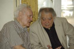 Dobos László, Csoóri Sándor (2009, DIA)