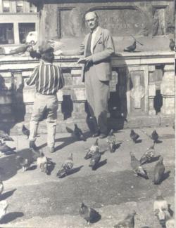Jekely Zoltán Münchenben (1961)