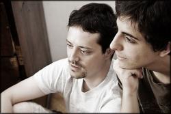 Két fia, Soma és Tibor (fotó: Várady Erika)