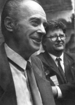 Domokos Mátyással Duinóban (1990)