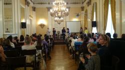 Ünnepélyes díjátadás, avagy Túró Rudi lakoma a Károlyi-palotában