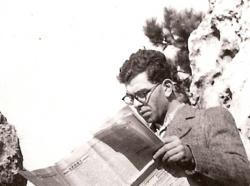 Kántor Péter édesapja, Kántor (sz. Weisz) László
