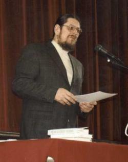 Előadás Petri Györgyről a Magyartanárok Egyesülete tanácskozásán (2001. április 11.)