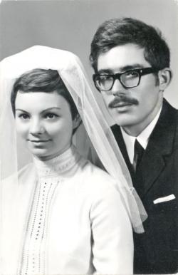 Esküvői kép Ökrös Tündével (1969)